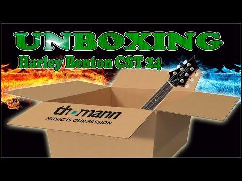 Unboxing Harley Benton (CST 24T)