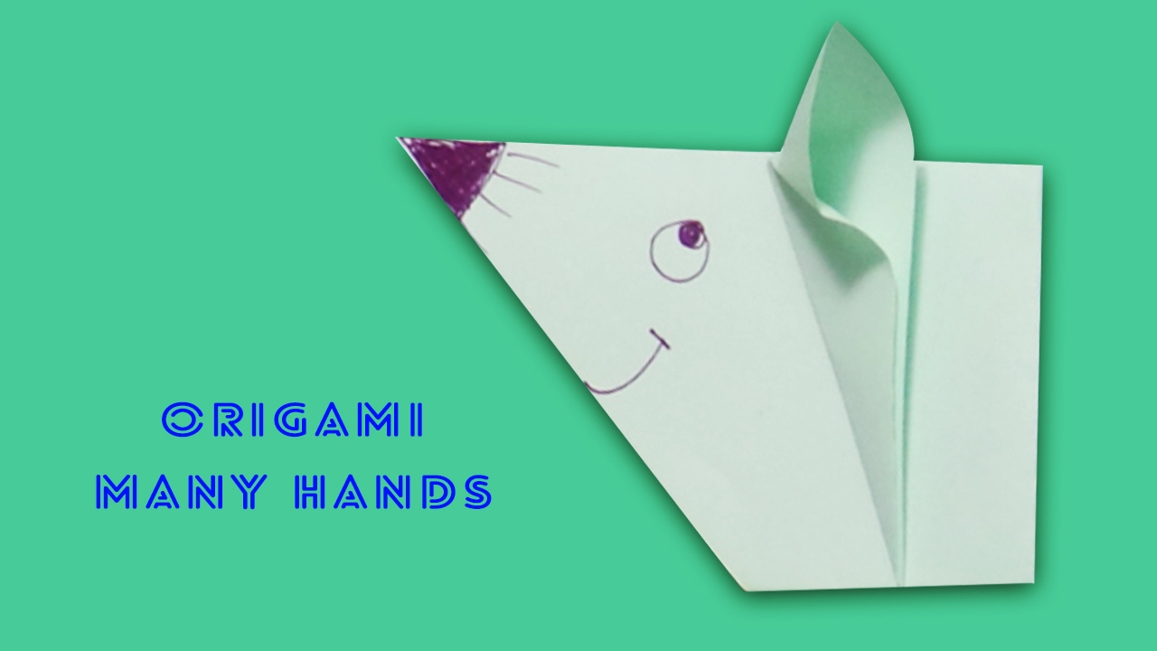 Origami rat how to make rat youtube origami rat how to make rat jeuxipadfo Images