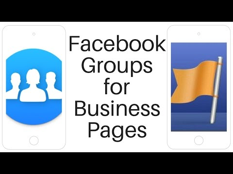 Facebook Groups for Business Pages