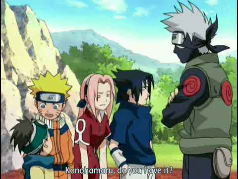 naruto find the fourleaf red clover ova part 22 youtube