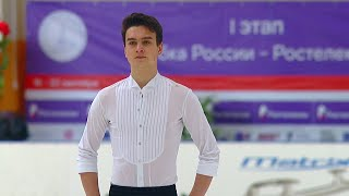 Макар Игнатов Короткая программа Мужчины Кубок России по фигурному катанию 2020 21