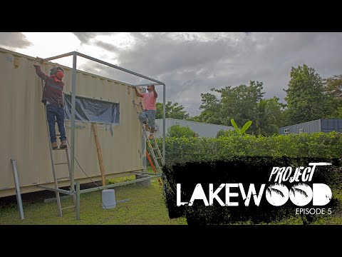 A Shipping Container Home Build In Costa Rica 🇨🇷 – Project Lakewood – Episode 5