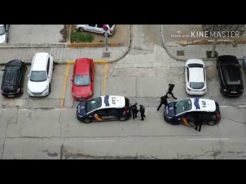 Detención esta tarde de la Policía Nacional en Algeciras