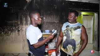 How My House Got Burnt For Me To Lose Everything - Koo Fori & Zionfelix Tour Burnt House