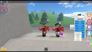 Dance video on roblox to the songs In Between and the song Hips Dont Lie