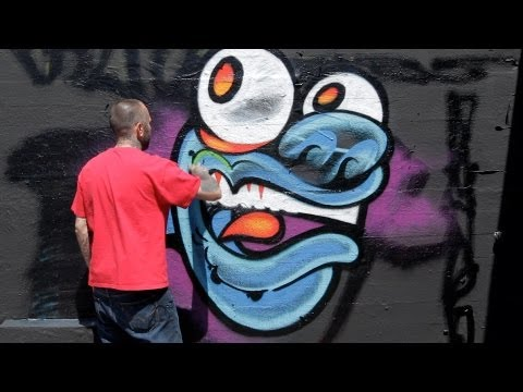 How to Draw a Monster | Graffiti Art Travel Video