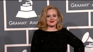 Adele Addresses Grammy Night
