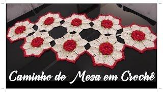 CAMINHO DE MESA EM CROCHÊ COM DIANE GONÇALVES