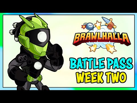 Brawlhalla BATTLE PASS • Week 2 Missions!!! • 1v1 Gameplay