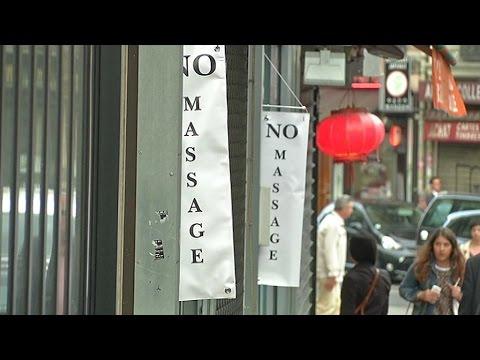 """Les """"salons de massage"""" nouvelle cible des Républicains à Paris"""