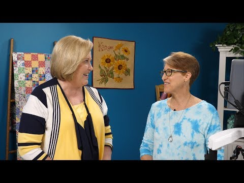 HQ Live – Quilting Vintage Linens and Lacework with Kelly Cline (July 2017)