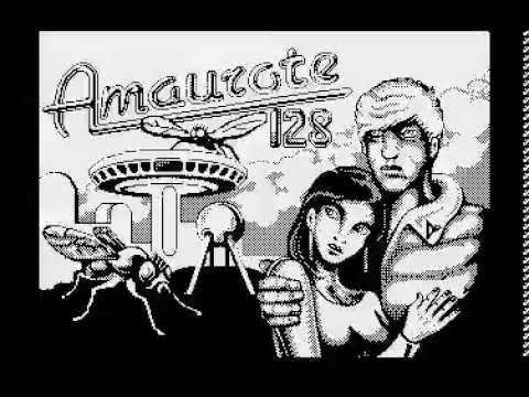 Amaurote 128 - Atari 8-bit XL/XE