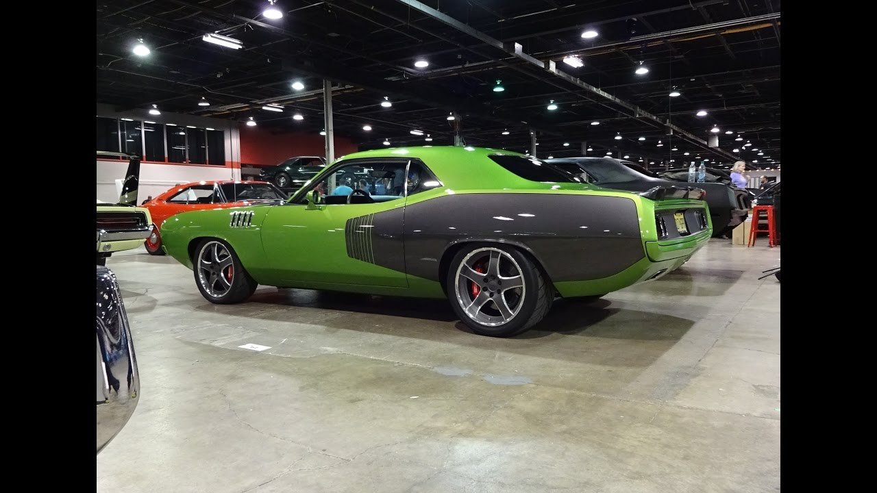 1971 Plymouth Cuda Custom In Green With Envy Paint