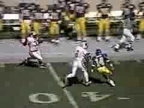 Ron Dayne 1st carry of Sophomore year