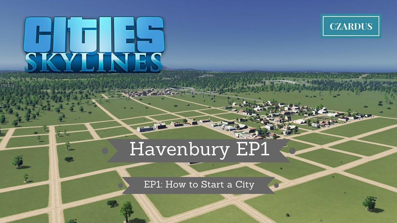Havenbury, a Vanilla City - Cities: Skylines City Journals