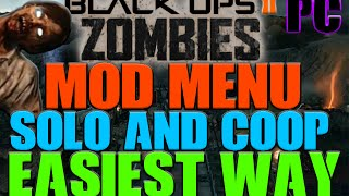 [NOSTEAM ONLY] Black Ops 2: ZOMBIES Mod Menu Tutorial! [EASIEST WAY] [PC]