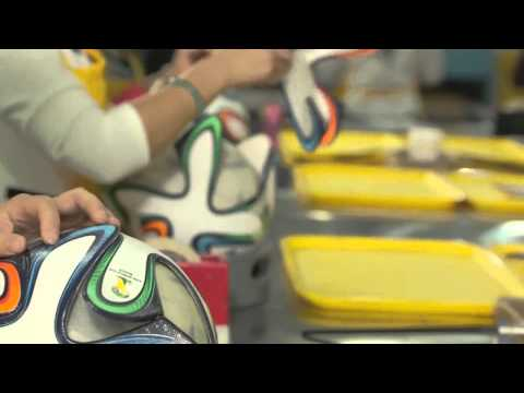 adidas Brazuca World Cup 2014 Ball Production