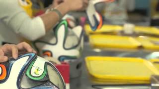 One of Football Boots's most viewed videos: adidas Brazuca World Cup 2014 Ball Production