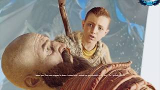 God of War 4 2018 Escape the Nest & Light Journey No Damage Walkthrough Part 20 PS4 PRO