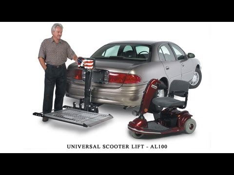 Harmar AL100 Scooter Lift Installation Guide
