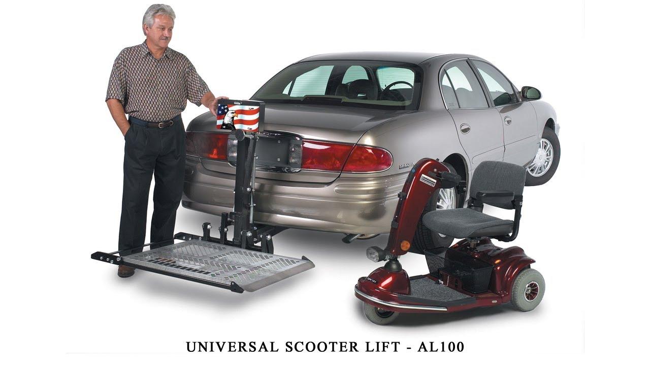medium resolution of harmar al100 scooter lift installation guide
