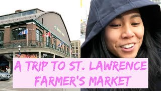A Trip to St. Lawrence Market in Toronto - Travel with Arianne - Travel, Food and Drink ep. #8