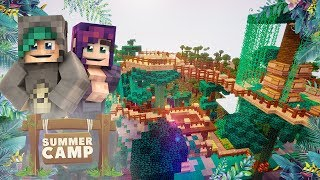THE BEST BASE IN CAMP! - Minecraft Summer Camp SMP - Ep.5