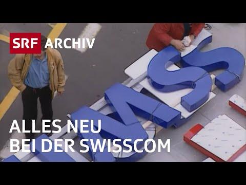 Von Telecom zu Swisscom