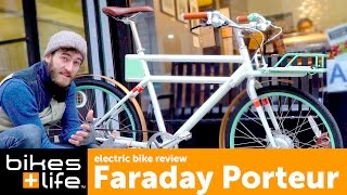 2016 Faraday Porteur Electric Bike Video Review(Buy now, shipped or in-store: http://www.bikesandlife.com/products/faraday-porteur-bike More from Peter: The first time I rode the Faraday Porteur it confirmed all ..., 2016-02-20T03:41:08.000Z)
