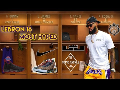 huge discount 20b47 64b56 Why the LeBron 16 is his Most Hyped Shoe Yet! Space Jam 16's?
