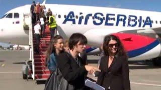 Air Serbia - prvi let za Tiranu