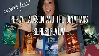 SERIES REVIEW: PERCY JACKSON AND THE OLYMPIANS (SPOILER FREE).