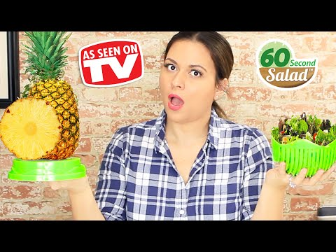 60 Second Salad Maker Review - Testing As Seen On TV Products
