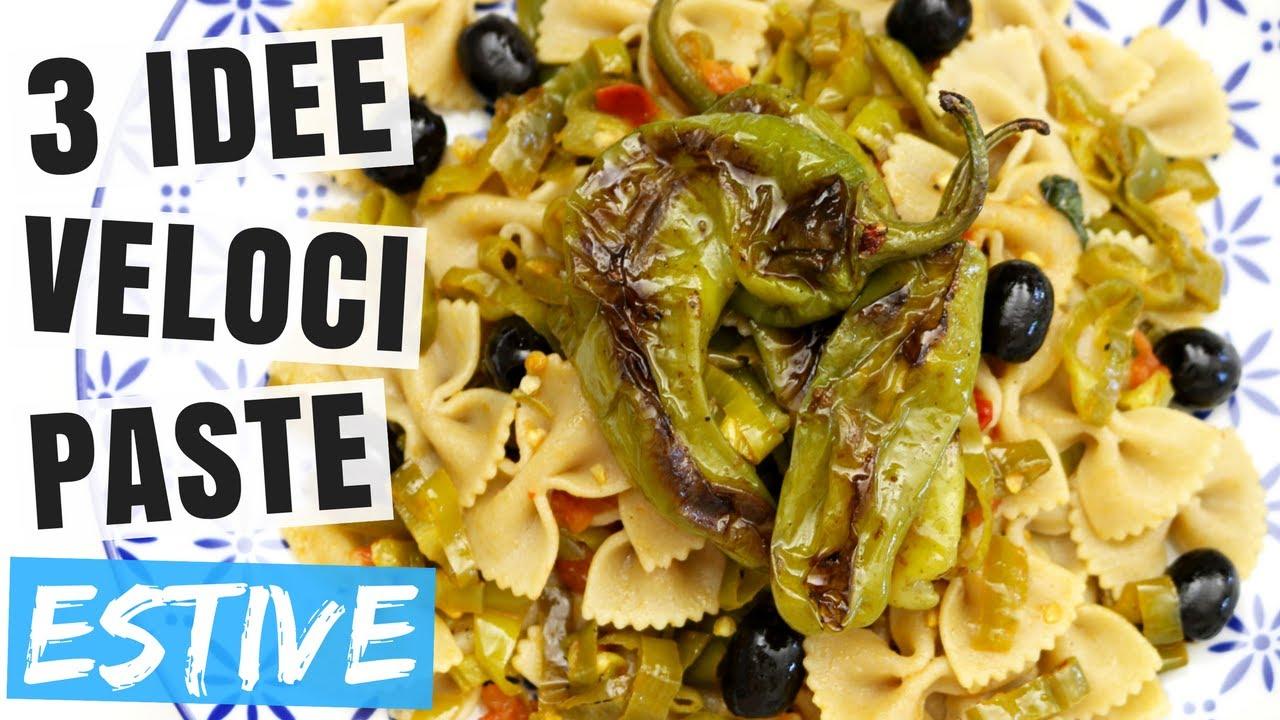 3 idee pasta estiva sfiziosa ricette estive primi piatti for Ricette veloci vegetariane primi piatti