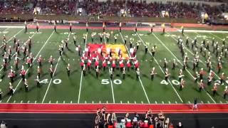 Pitt State Marching Band - Sept. 21st, 2013 (Halftime)