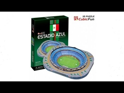 """Estadio Azul"" Puzzle 3D"