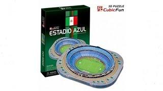 """""""Estadio Azul"""" - Puzzle 3D"""