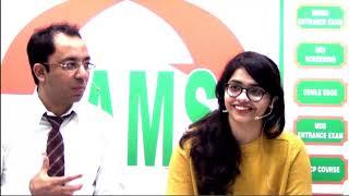 AIIMS NOV 2017 TOPPER RANK-7 Dr. ANANYA SHARMA #damsrocks