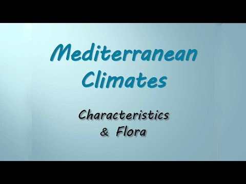 Plants for the Mediterranean Climate Zones