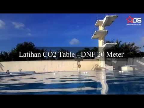 Freediving - Indonesia - Aceh - Latihan CO2 Table