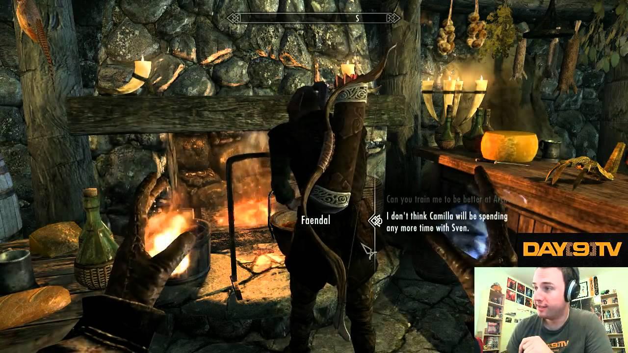 Day9 plays Elder Scrolls V: Skyrim - Part 7