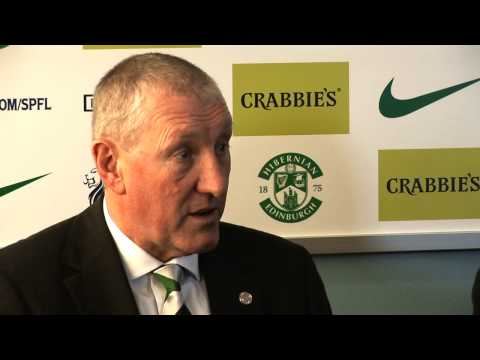 Terry Butcher Officially Presented as New Hibernian Manager