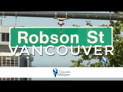Compras em Robson Square | Vancouver no Canadá