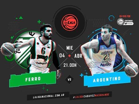 Liga Nacional: Ferro vs. Argentino | #LaLigaEnTyCSports