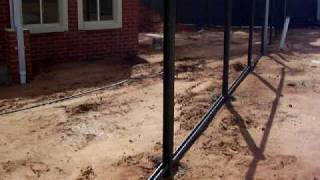 home building lot 5 ella mae court red cliffs colorbond fencing starts 002