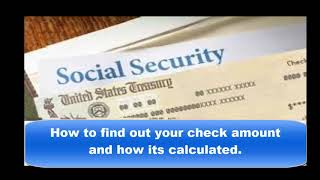 How to find out your Disability Check amount and how its calculated