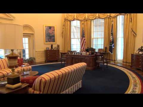 Bill Clinton's Oval office - Clinton Presidential Center, Little Rock, AR