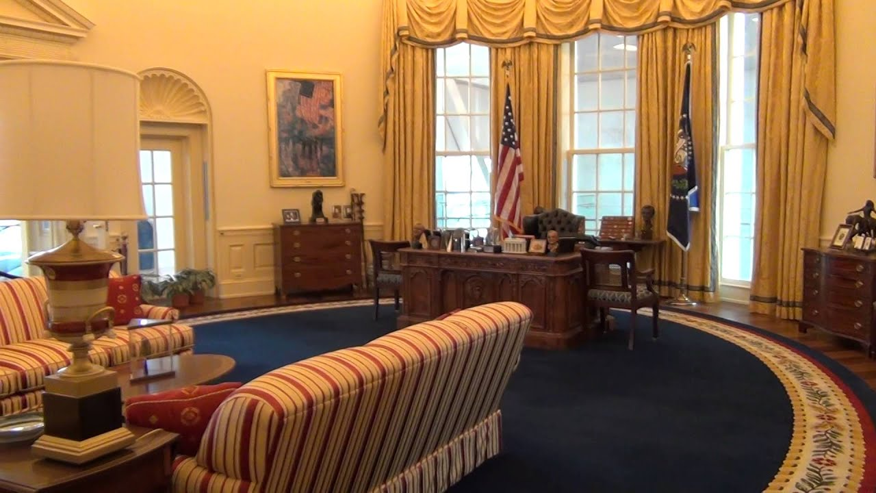 Trump Oval Office Renovation Bill Clinton S Oval Office Clinton Presidential Center