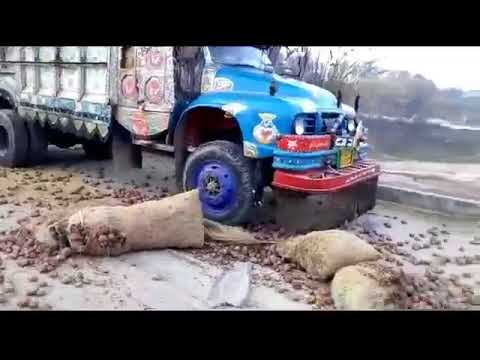 Dangerous accident at Express highway Islamabad