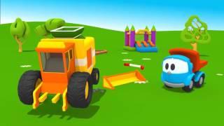 Leo Junior - Bir biçer döver yapıp buğdayı biçeceğiz - Eğitici çizgi film